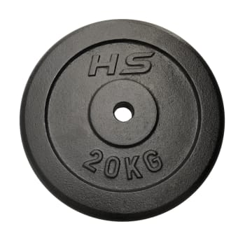 HS Fitness 20kg 30mm Plate