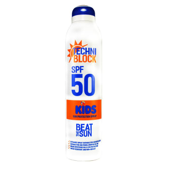 Techniblock SPF 50 Kids Spray 300ml Spray