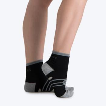 8860 Drynamix Anklet Silver Run Sock 4-6