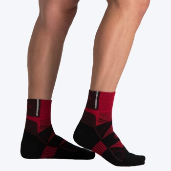 Falke 8266 Trail Running Socks 8-12 (W20 Black/Bright Red) - Sold Out Online