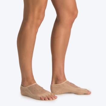OTG Diamante Open-Toe Yoga Sock Size 4-7
