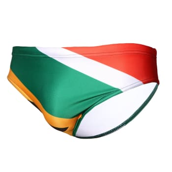 Second Skins Boys South African Flag Swimming Brief