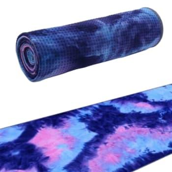 OTG Tie Dye Non- Slip Yoga Towel