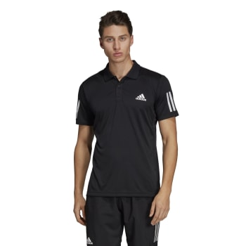 adidas Men's Club 3 Stripe Tennis Polo