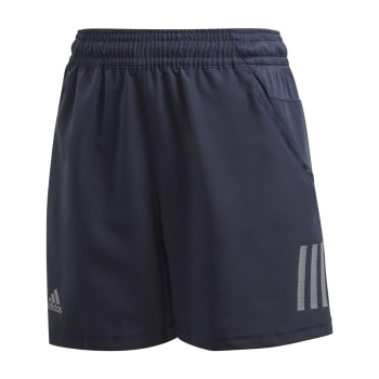 adidas Boys Club 3 Stripe Tennis Short