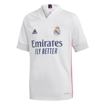 Real Madrid Junior Home 20/21 Soccer Jersey