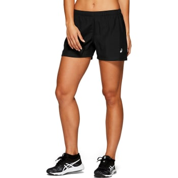 asics Women's Silver 4'' Run Short