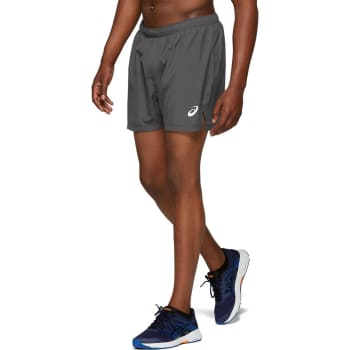 asics Men's Silver 5'' Run Short