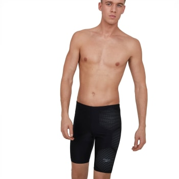Speedo Men's Tech Placement Swim Jammer