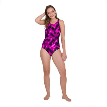 Speedo Women's Allover Recordbreaker Swim 1 Piece