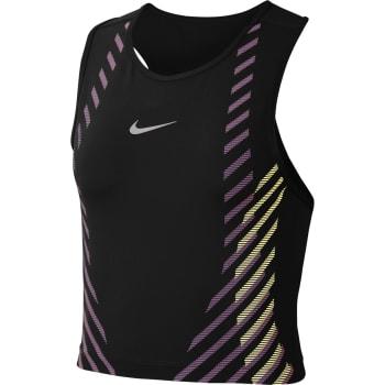 Nike Women's Runway Crop Run Tank