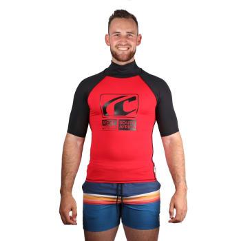 Reef Men's Fashion Short Sleeve Rashvest