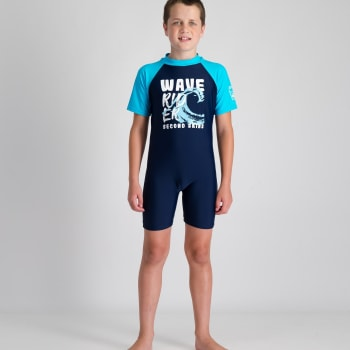Second Skins Boys Wave Rider Sunsuit - Sold Out Online