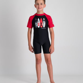 Second Skins Boys Surf Palms Sunsuit - Sold Out Online