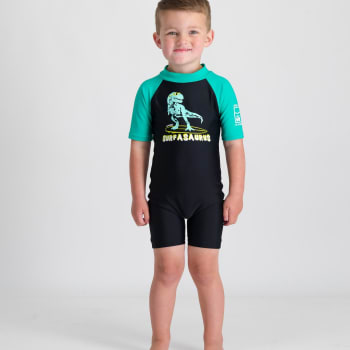 Second Skins Boys Surfasaurus Sunsuit
