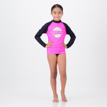 Rip Curl Girls Floral Long Sleeve Rashvest - Find in Store