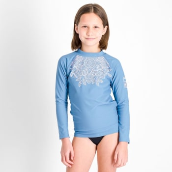 Second Skins Girls Mandala Long Sleeve Rashvest