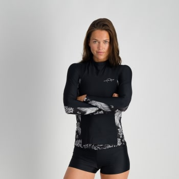 Second Skins Women's Palm Paradise Long Sleeve Rashvest - Find in Store