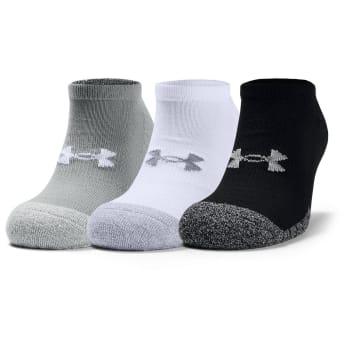 UA Ultra Lo Liner Sock 3 Pk (L)
