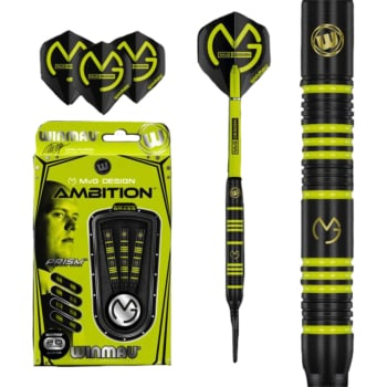 Winmau MvG Ambition Brass Darts - Out of Stock - Notify Me