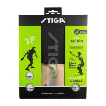 Stiga Action 2 Player Table Tennis Set
