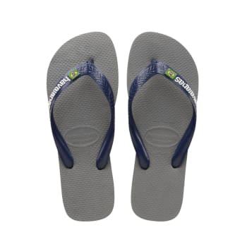 Havaianas Men's Brazil Logo Sandals