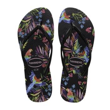 Havaianas Women's Slim Tropical Floral Sandals