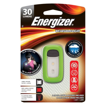 Energizer Wearable Light 30 Lumens