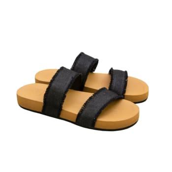 Rip Curl Women's Sunset Black/Denim Sandals
