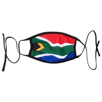 SA Single Flag Face Mask - Find in Store