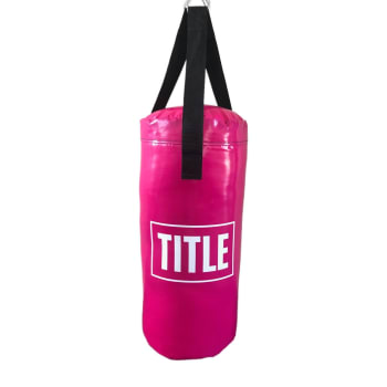 Title Punch Bag Small - Pink