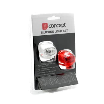 Concept Silicon Front and Rear Light Set