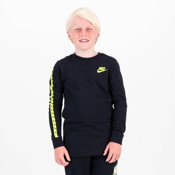Nike Boys NSW Taping Long Sleeve T- Shirt