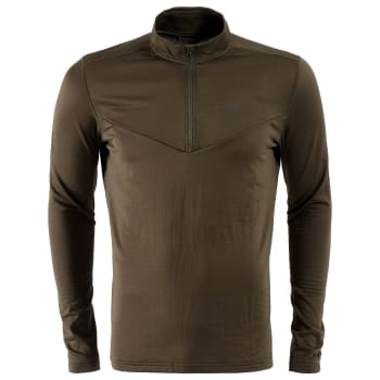 First Ascent Men's X-trail Grid 1/4 Zip Fleece Top