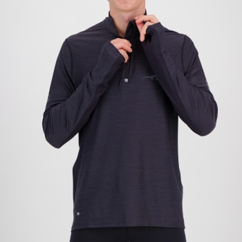 First Ascent Men's Kinetic 1/4 Run Long Sleeve