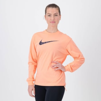 Nike Women's Icon Clash Long Sleeve Crop Sweat Top