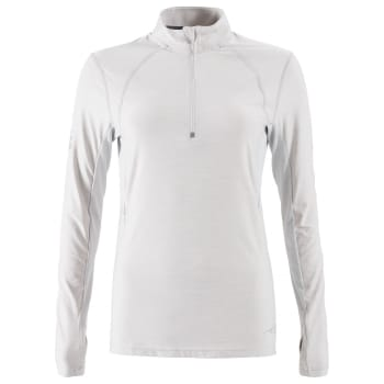 First Ascent Women's Kinetic 1/4 Zip Run Long Sleeve