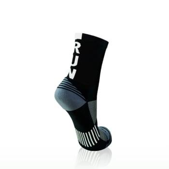 Versus Black Run Sock Size 4-7
