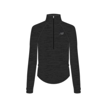 New Balance Women's Half Zip Long Sleeve Top
