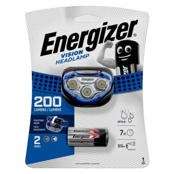 Energizer Vision Headlight 200 Lumens