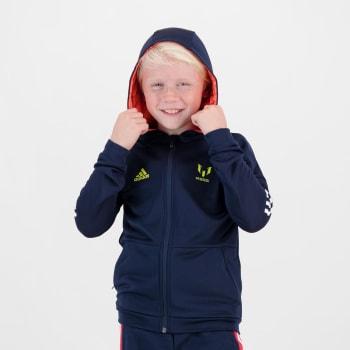 adidas Boys Aeroready Messi Full Zip Hoodie