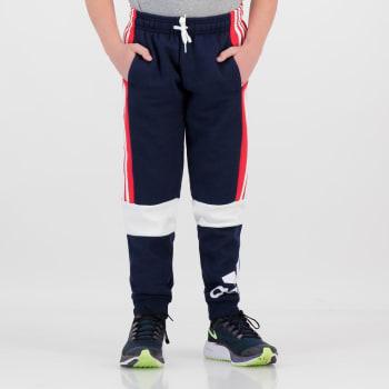 Adidas Boys Colourblock Fleece Sweatpant