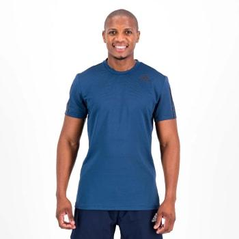 Adidas Men's Aero Prime Blue 3S Tee