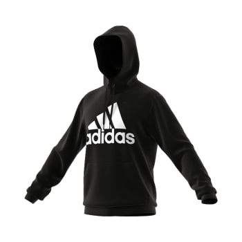 Adidas Big Logo French Terry Hooded Sweattop