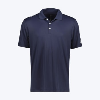 adidas Men's Golf 3 Stripe Polo