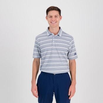 Adidas Mens HTR Snap Golf SS Tshirt