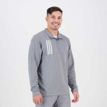 adidas Men's Golf 1/4 Zip Long Sleeve Shirt