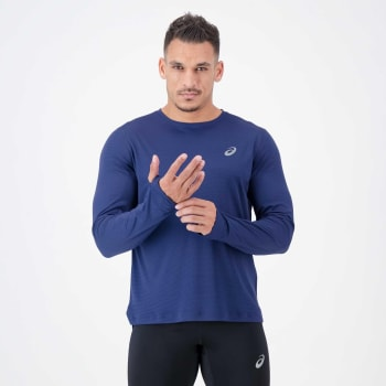 Asics Men's Silver Run Long Sleeve
