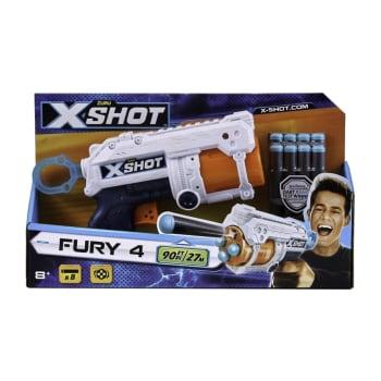 Zuru X-Shot Excel Fury 4 Dart Gun - Out of Stock - Notify Me