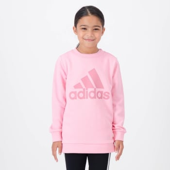 Adidas Girls Crew Sweat Top